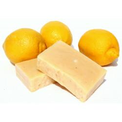 Твёрдое мыло-шампунь Лимон